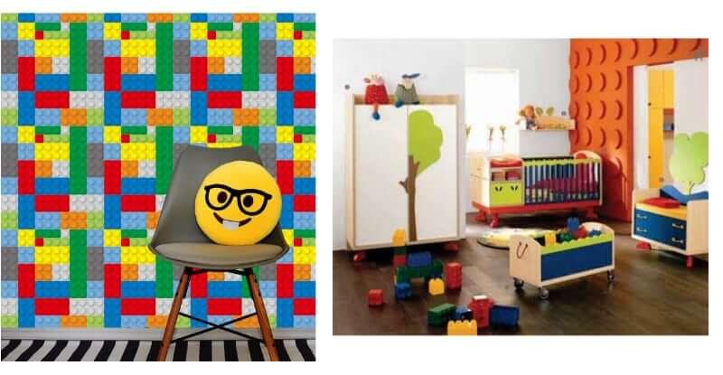fototapeta i panele scienne lego mroomy
