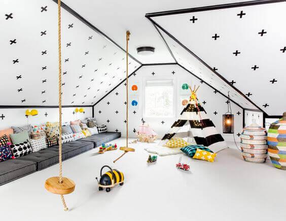 huśtawka do pokoju dziecka mroomy