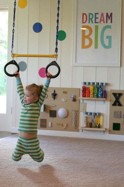 liny do podciągania huśtania do pokoju dziecka mroomy