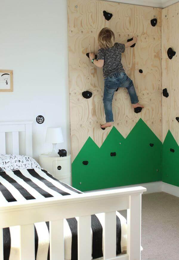 ścianka wspinaczkowa do pokoju dziecka mroomy