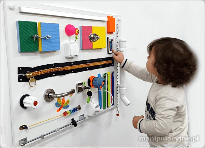 tablica manipulacyjna dla dzieci mroomy