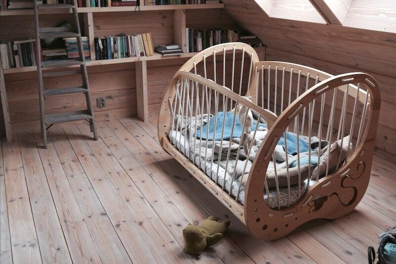 łóżeczko Grennboy dla dziecka