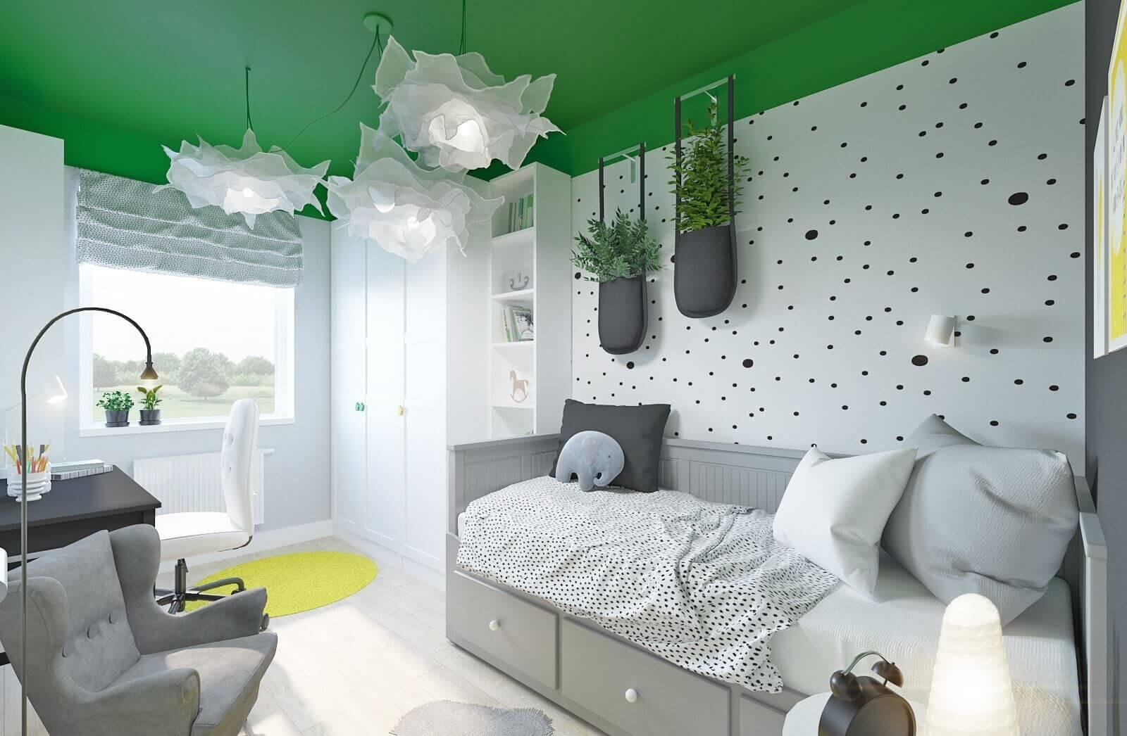 projekt pokoju dla 8 letniej dziewczynki z mebli ikea mroomy