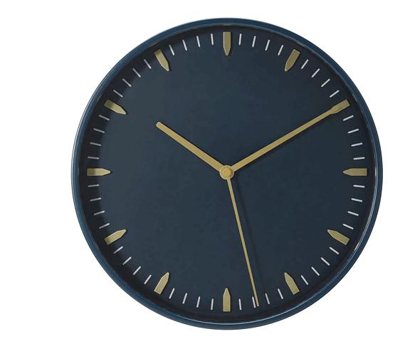 zegar ścienny ikea skarig mroomy