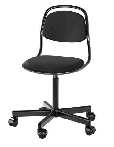 Krzesło ÖRFJÄLL Ikea dla dziecka czarne