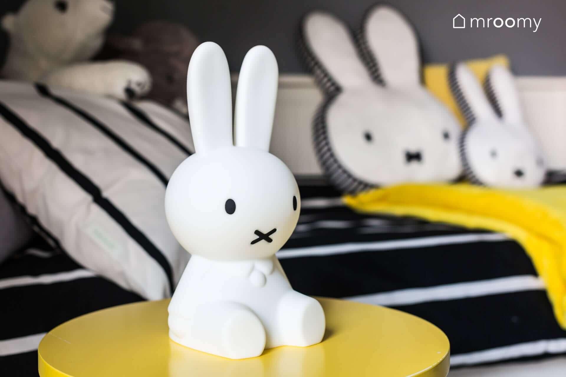 mroomy lampka miffy projekt pokoju dziewczynki 6 lat mroomy