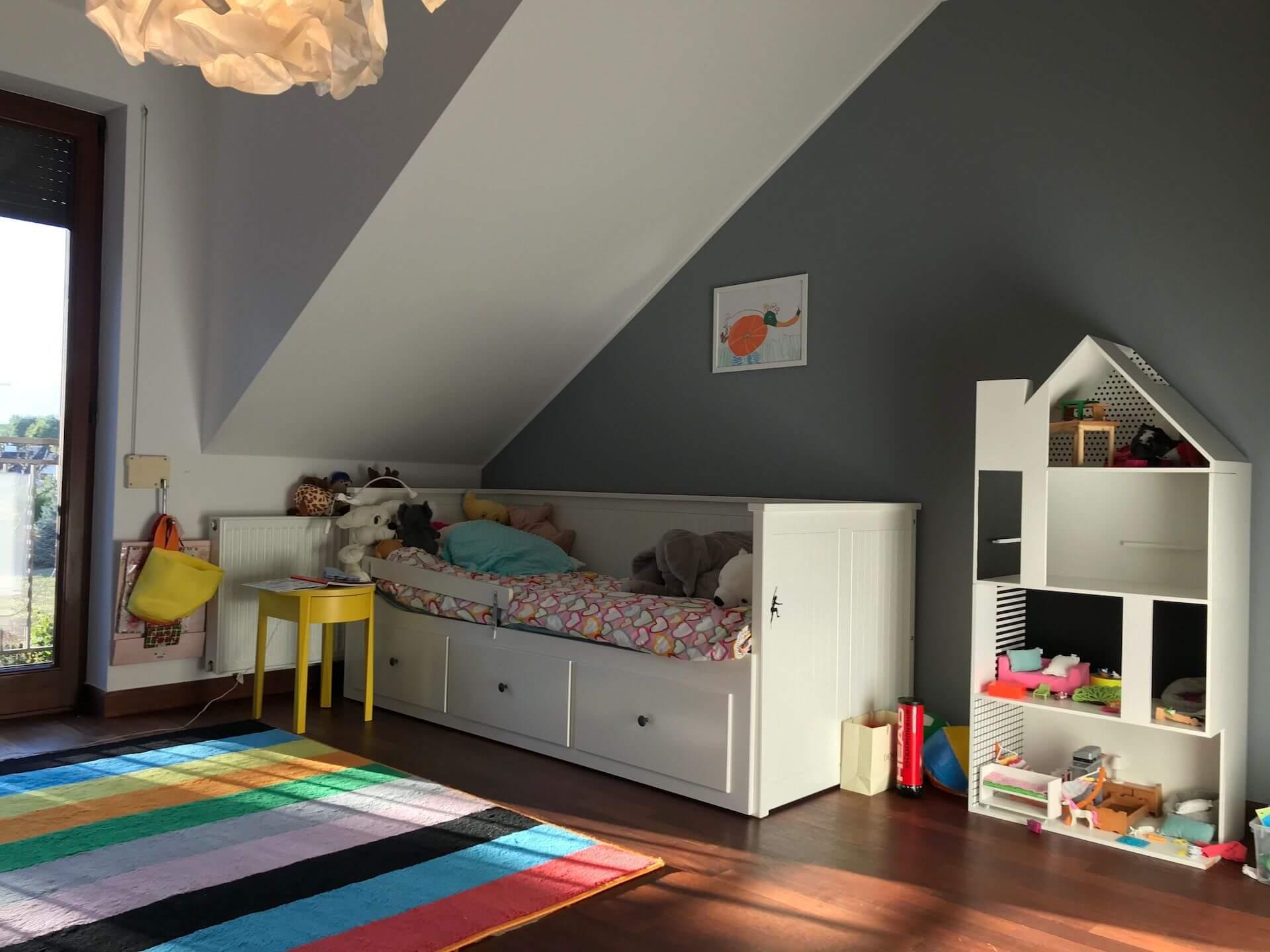 projekt pokoju dziewczynki 6 lat przed