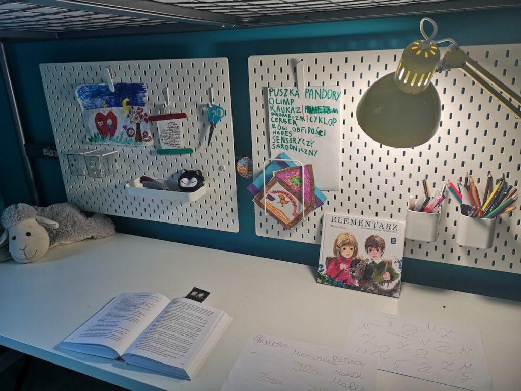 pokój dla dzieci tablice skadis