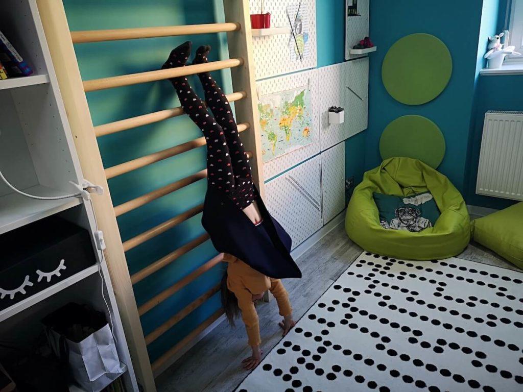 drabinka w pokoju dziecka