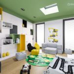 Projekt pokoju dla chłopca, 4-letniego Olka (#39)