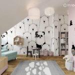 Projekt pokoju dla dziewczynki, rocznej Mii (#61)