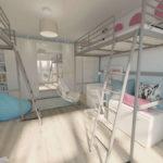 Pokój dla dwóch dziewczynek 42