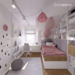 """Projekt pokoju dla dziewczynki """"Hania"""" (numer 58)"""