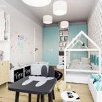 Projekt pokoju dla chłopca, 2-letniego Ignacego (#81)