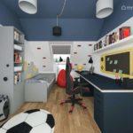 Projekt pokoju dla chłopca, 13-letniego Janka (#85)