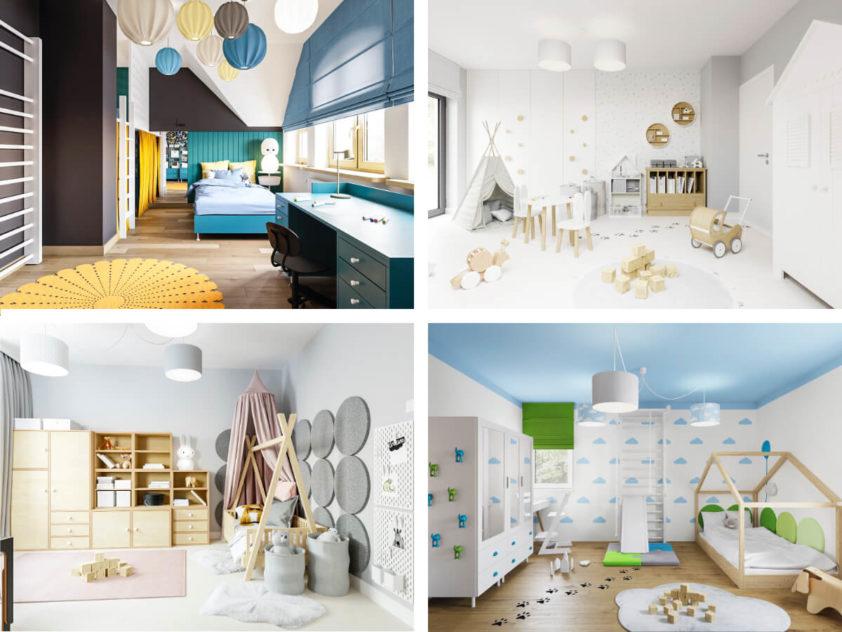 Projekty pokoju dla dziewczynki