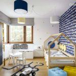 Projekt pokoju dla chłopca, 2-letniego Jasia (#108)