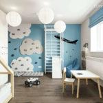 Projekt pokoju dla chłopca, 3-letniego Wiktora (#112)