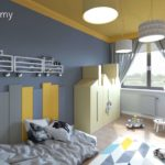 Projekt pokoju dla chłopca, 2-letniego Frania (#127)