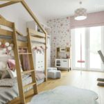 Projekt pokoju dla dziewczynki, 5-letniej Zuzanny (#123)