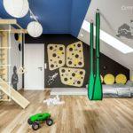 Projekt pokoju dla chłopca, 6-letniego Gustawa (#130)