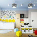 Projekt pokoju dla chłopca, Jasia (4 lata) (#139)
