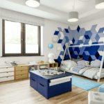 Projekt pokoju dla chłopca, Jasia (3 lata) (#140)