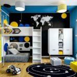 Projekt pokoju dla chłopca, Kostka (10 lat) (#143)